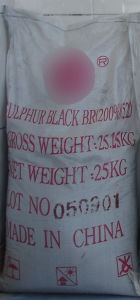 Sulphur Dyes Black Br Textile Dyestuff pictures & photos