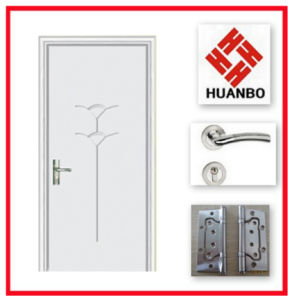 2014 Latest Design Safety PVC Interior Door Hb-180