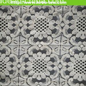 Allover Cotton Nylon Garment Lace Fabric 593