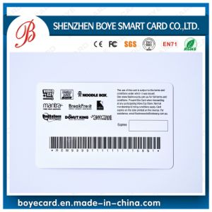 Popular & Beautiful Plastic Barcode Smart Card pictures & photos