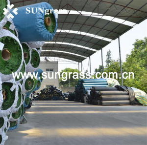 High Density Sports Artificial Grass for Tennis (SUNJ-HY00008) pictures & photos