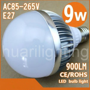 E27 Base 9W LED Bulb Light Cool/ Warm White, Commercial, Engineering, Indoor Lighting