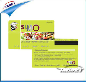 PVC Printable Hico 2750OE Magnetic Card (CR80) pictures & photos