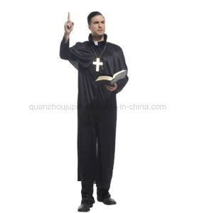 Custom Cosplay Cos Priest Father Clothes Costume pictures & photos