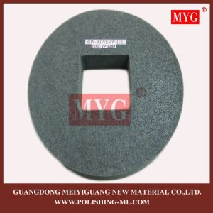Non Woven Cleaning Wheel with Square Hole pictures & photos