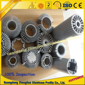 Factory Customized Anodized Aluminum Extrusion Profile CNC pictures & photos