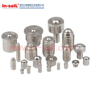 Steel Ball Plungers with Threaded Body pictures & photos