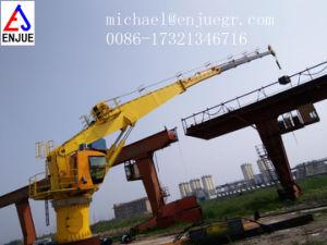 Telescopic Boom Deck Crane Hydraulic Ship Deck Marine Crane pictures & photos