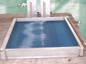 Hydrophlic Fin Copper Tube Refrigeration Unit Heat Exchanger pictures & photos