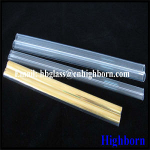 Double Hole Fused Quartz Glass Pipe pictures & photos