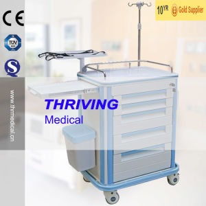Hospital Multi-Function ABS Trolley Cart pictures & photos