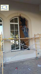 Energy Saving Double Glass Thermal Break Aluminum Window Doors pictures & photos