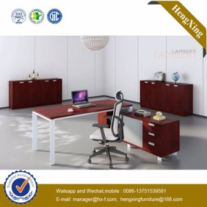 Manager Office Desk Glass Top Check-in Office Furniture (HX-NJ5034) pictures & photos