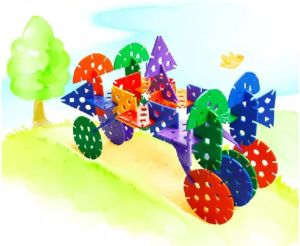 Fatory Supply Favorable Building Block Children Happy Flower Toy pictures & photos
