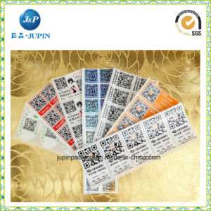 Cheap Clear Vinyl Car Bumper Sticker Printed Labels (JP-s. 053) pictures & photos