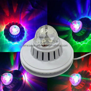 Full Color Sunflower Rotating LED Light 48PCS Mini Crystal Magic Ball Manufacturer Wholesale pictures & photos