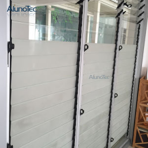 Elegant Glass Jalousie Louver Window Wall for House pictures & photos