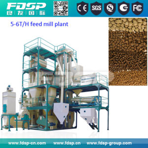 Hot Selling Animal Feed Production Plant Poultry Pellet Feed Line pictures & photos