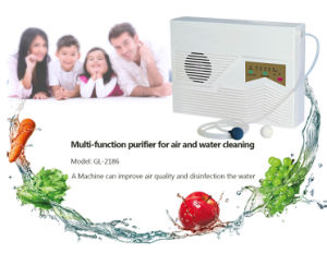 Portable Ozone Generator 2186 for Vegetables and Fruits pictures & photos