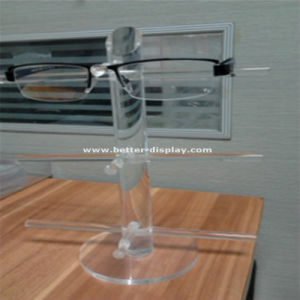 Clear Plastic Acrylic Eyeglass Display Stand for 3/4/5pairs pictures & photos