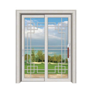 Interior Glass Sliding Door Grill Design with Low Price pictures & photos