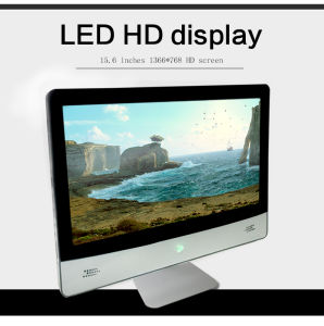 fashion LED All in One Desktop Gaming Computer with Battery All in One PC Touch pictures & photos