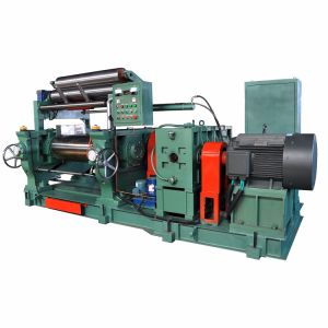 Space-Saving Rubber Mixing Mill Machine pictures & photos