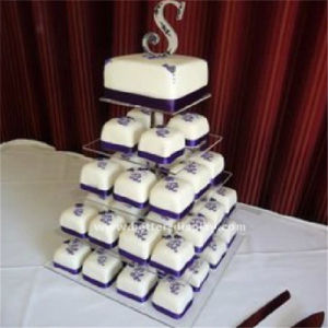 Clear Acrylic Crystal Wedding Cake Stand pictures & photos