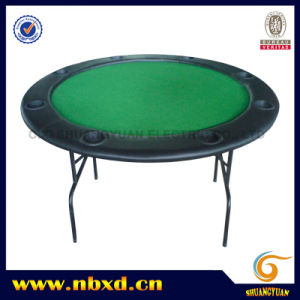 Round Poker Table with Iron Leg (SY-T03) pictures & photos