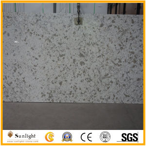 Engineered Artificial Pure White Quartz Stone for Countertops/Worktops pictures & photos