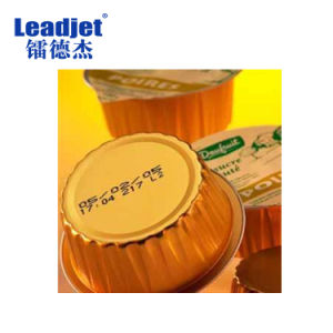 Leadjet V280 Digital Industrial Continuous Batch Code Inkjet Printer pictures & photos