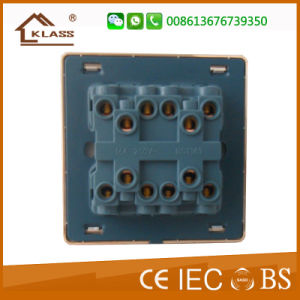 10A 220V 4 Gang Switch Wall Switch Plate pictures & photos