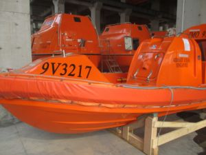 Solas Marine Life Saving Equipment 6 Persons Fast Rescue Boat with Outboard Motor pictures & photos