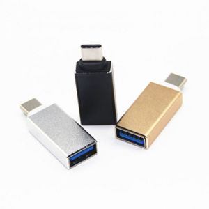 Type-C Male to Micro USB 5pin Female Data Charger Adapter pictures & photos