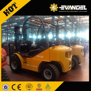 China Electric Forklift Yto 2.5 Ton Battery Forklift Cpd25 pictures & photos