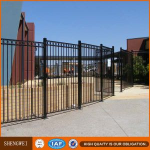 Security Square Steel Tube Fence pictures & photos