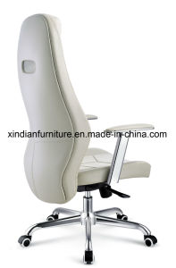 Leather Faced Modern Swivel Recline Office Chair for Boss pictures & photos