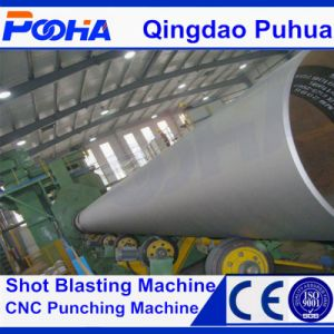 Steel Pipe Outer Wall Shot Blasting Machine pictures & photos
