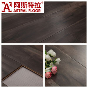 12mm Silk Surface (U Groove) Laminate Flooring (AS0008-8) pictures & photos