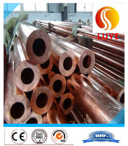Red Copper Tube Round Pipe ASTM C10200 C10400 pictures & photos