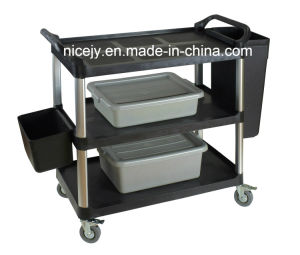 Big Plastic Utility Cart for Restaurant&Hospital-Only The Cart pictures & photos
