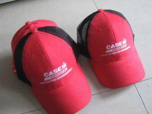Cotton Mesh Embroidery Trucker Cap