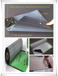 Double-Side / One-Side Self-Adhesive Bitumen Waterproof Membrane / Asphalt Sheets pictures & photos
