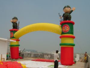 Advertising Inflatable Arch Military Themed, Inflatable Archway, Inflatable Archdoor for Event (K4034) pictures & photos