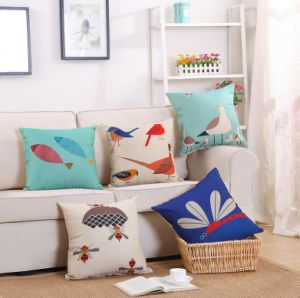 Superior Quality Digital Printed Home Decorative Sofa Cushion (T27) pictures & photos