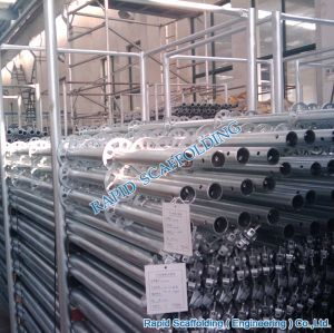 Galvanized Hot Sales Ringlock Vertical Standard Scaffold pictures & photos