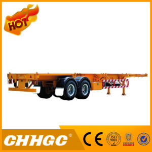 High Quality Flatbed Container Semi-Trailer pictures & photos