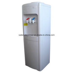 Compressor Cooling Bottled Water Dispenser with 3 Faucets pictures & photos
