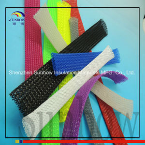 40mm Black Expandable Braided Pet Cable Sleeve pictures & photos
