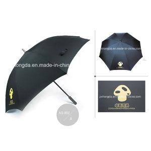 Manual Open Logo Printing Straight Golf Umbrella (YSGO0007) pictures & photos